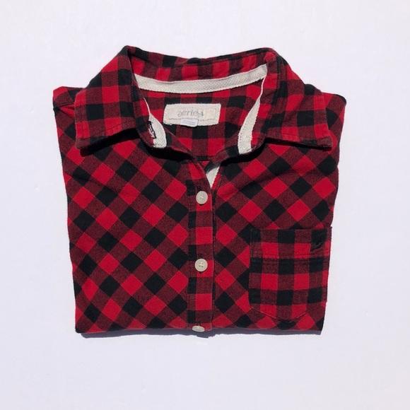 b60f3ca10c Women s Plaid Flannel Sleep Shirt